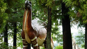 The Statue of dinosaur. This is the statue of old dinosaur in Japan Royalty Free Stock Photo