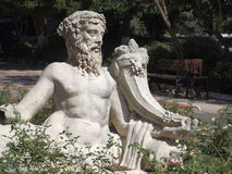 Statue of the Dionysus. Statue of the Greek god Dionysus at Ephesus Turkey Stock Photography