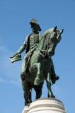 Statue Dom Pedros IV - Porto - Portugal lizenzfreie stockbilder