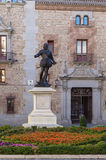 Statue of Don Alvaro de Bazan, Madrid Royalty Free Stock Photography