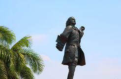 Statue of Don Blas de Lezo Cartagena Colombia. Fort Castillo San Felipe Stock Photos