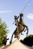 Statue of Don Quijote Royalty Free Stock Photos