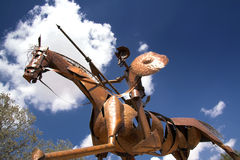 Statue of Don Quixote, la Mancha in Spain Stock Photo