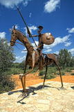 Statue of Don Quixote, la Mancha in Spain Royalty Free Stock Images