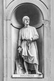 Statue of Donatello in Florence Royalty Free Stock Image