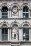 Statue Downtown伦敦英国阁下 免版税库存图片