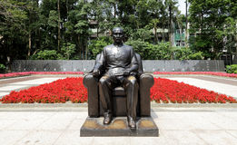 Statue of Dr. Sun, Yet-Sen Stock Photography