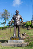 Statue of Dr. Sun Yat-Sen. The father of the Republic of China on the island of Maui in Hawaii, USA Stock Image