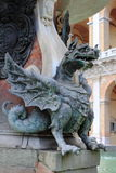 Statue of a Dragon in Loreto Stock Images