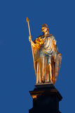 Statue in Dresden Royalty Free Stock Photography