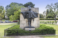 Statue of 'The Driver'. Royalty Free Stock Photography