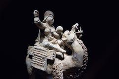Statue du cavalier de chameau Images libres de droits