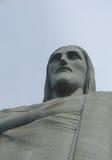 Statue du Christ dans Corcovado images libres de droits