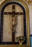 Statue du Christ Illustration de vecteur pour le journal ou la magazine photo stock