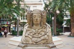Statue du Dama De Elche image stock