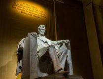 Statue du Lincoln Memorial Images stock