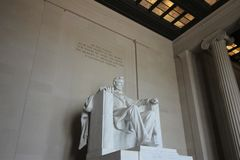 Statue du Lincoln Memorial photo libre de droits