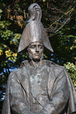 Statue du maréchal de champ russe Michael Barclay de Tolly Photo stock
