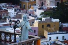 statue du Mexique de guanajuato du Christ Image libre de droits