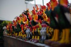 Statue du poulet Images stock