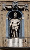 Statue du roi espagnol de la Sicile Philip II Photos libres de droits