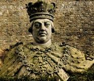 Statue du Roi George III Images stock