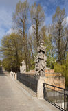 Statue du Roi John III Sobieski à Varsovie Images libres de droits