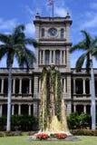 Statue du Roi Kamehameha, Honolulu, Hawaï Photographie stock libre de droits
