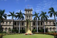 Statue du Roi Kamehameha, Honolulu, Hawaï Photographie stock