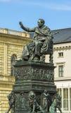 Statue du Roi Luitpold de résidence de Munich image libre de droits