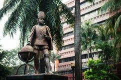 Statue du Roi Philipe II intra-muros, Manille, Philippines Photos libres de droits