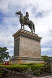 Statue du roi rama5 Image libre de droits