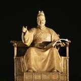 Statue du Roi Sejong Photographie stock