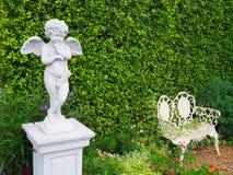 Statue du ` s de cupidon Image libre de droits