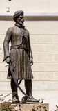 Statue du soldat grec Image stock