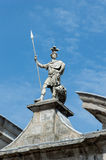 Statue at Dublin Castle Royalty Free Stock Photography