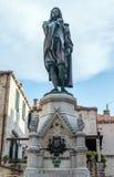 Statue in Dubrovnik stockfotos