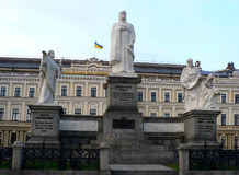 Statue of Duchess Olga Royalty Free Stock Photo