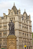Statue of Duke of Devonshire on the Whitehall Royalty Free Stock Images