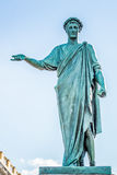 Statue of the Duke Richelieu. Odessa, Ukraine Royalty Free Stock Photos