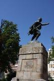 Statue of Duke Vuk Vojin Popovic in Belgrade, Serbia. Statue of Duke Vuk Vojin Popovic in Belgrade, Serbia Stock Image