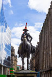 Statue of the Duke of Wellington, Glasgow Stock Images