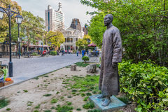 Statue of Duolun Road Hongkou District Shanghai China Royalty Free Stock Photography