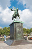 Statue of dutch king Royalty Free Stock Photos