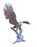 Statue of the eagle Stock Image