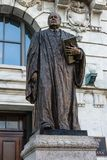 Statue of Edward Douglas White in front of the Supreme Court bui. New Orleans, Louisiana- February 5,2017: Statue of Edward Douglas White, a United States Royalty Free Stock Photo