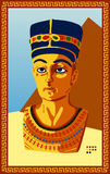 Statue of Egyptian Pharaoh Royalty Free Stock Image