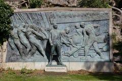 Statue ehrt Admiral Paul DeGrasse, der britische Marine vom Senden von Truppen in Chesapeake Bay blockierte und ebnet Weise für Y Stockbilder