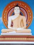 Statue in einem buddhistischen Tempel in Sri Lanka Stockbild