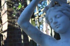 Statue einer Frau im botanischen Garten in Neuseeland Stockfotografie